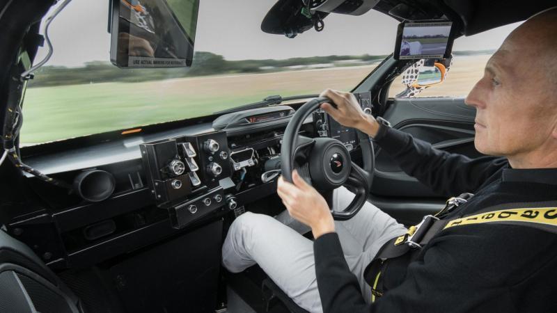 McLaren BP23 prototype