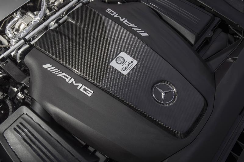 Mercedes-AMG GT C Edition 50 (essai - 2017)