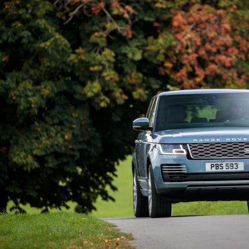 Range Rover restylé 2018