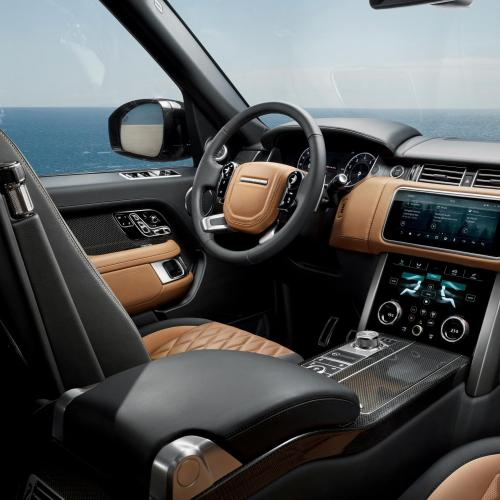 Range Rover restylé 2018