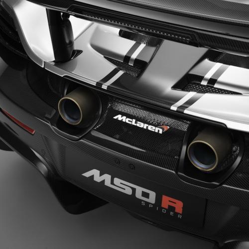 McLaren MSO R Coupé et Spider