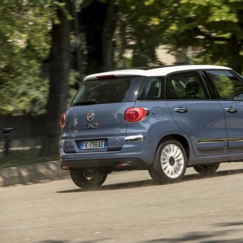 Fiat 500L restylée (essai - 2017)