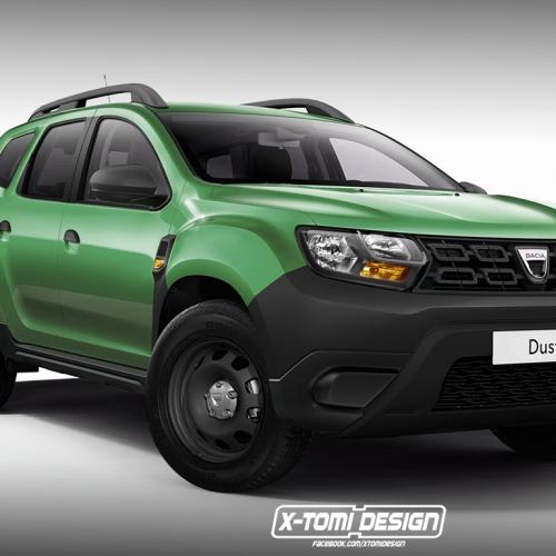 Le Dacia Duster 2 décliné en versions pickup, GT ou 3 portes ?