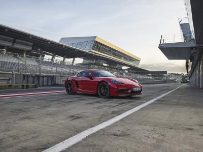 Porsche 718 Cayman GTS (officiel - 2017)