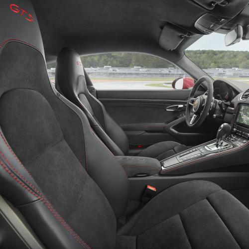 Porsche 718 Cayman GTS (officiel - 2017)