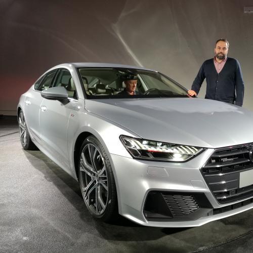 Audi A7 Sportback (reveal - 2017)