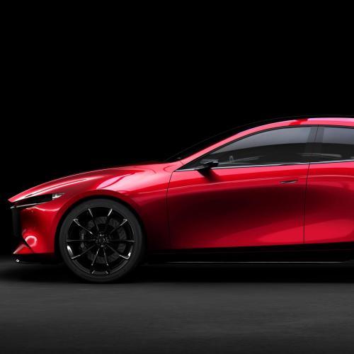 Mazda Vision Coupé et Kai