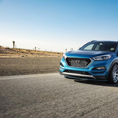 Hyundai Tucson Sport Concept (officiel - 2017)