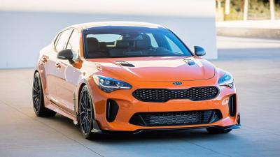 La Kia Stinger GT s'offre une double dose de tuning au SEMA Show