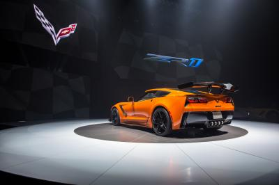 Chevrolet Corvette ZR1 (2018 - officiel)