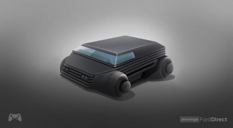 Les consoles de jeu légendaires réinventées en voitures