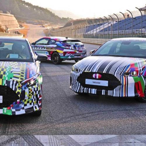 Hyundai Veloster 2018 prototypes