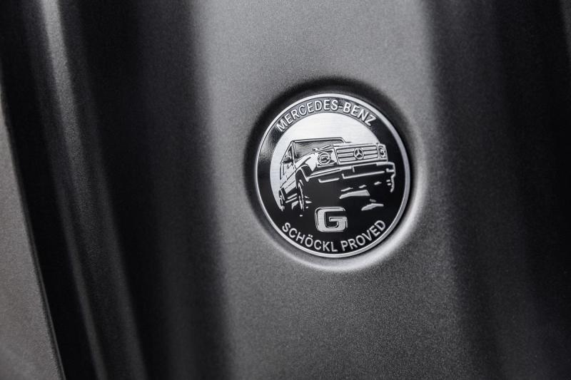 Nouveau Mercedes Classe G 2018 : premières photos de l'habitacle