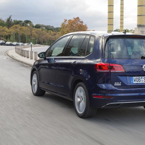 Volkswagen Golf Sportsvan restylée (essai - 2017)