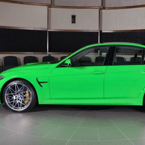 BMW M3 Verde Mantis