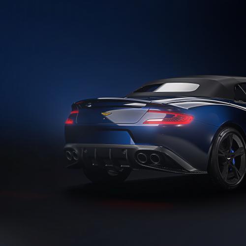 Aston Martin Vanquish S Volante ''Tom Brady Signature Edition'' (officiel - 2017)