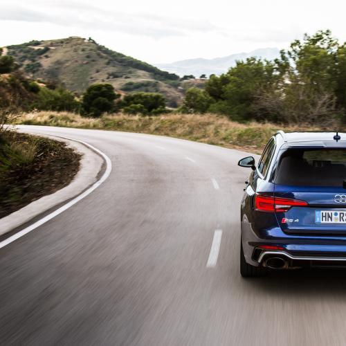 Audi RS 4 Avant (essai - 2018)