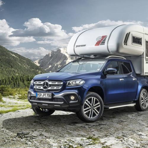 Mercedes Classe X camping-car