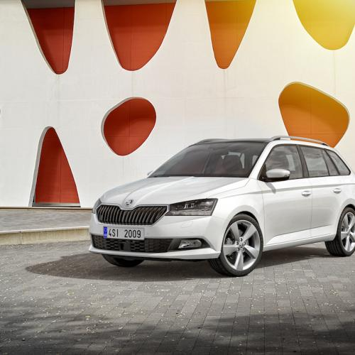 Skoda Fabia restylée 2018 | les photos officielles
