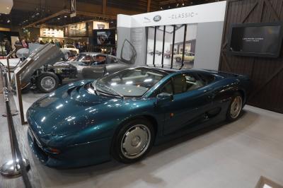 Jaguar au salon Rétromobile 2018