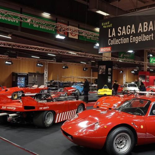 Abarth au salon Rétromobile 2018
