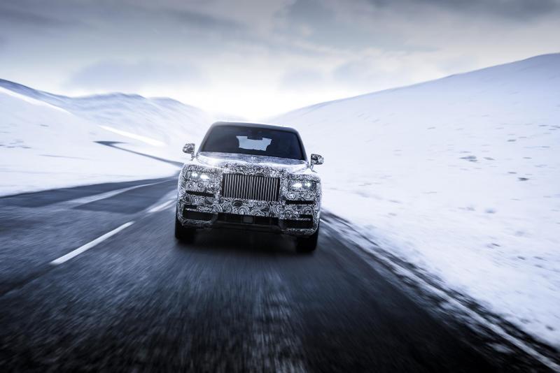 Rolls-Royce Cullinan (2018 - Prototype)