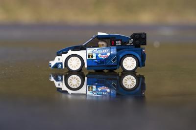 Ford Fiesta WRC Lego