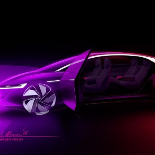 Volkswagen I.D. Vizzion (teasers)