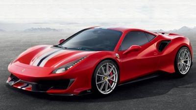 Ferrari 488 Pista (fuites)