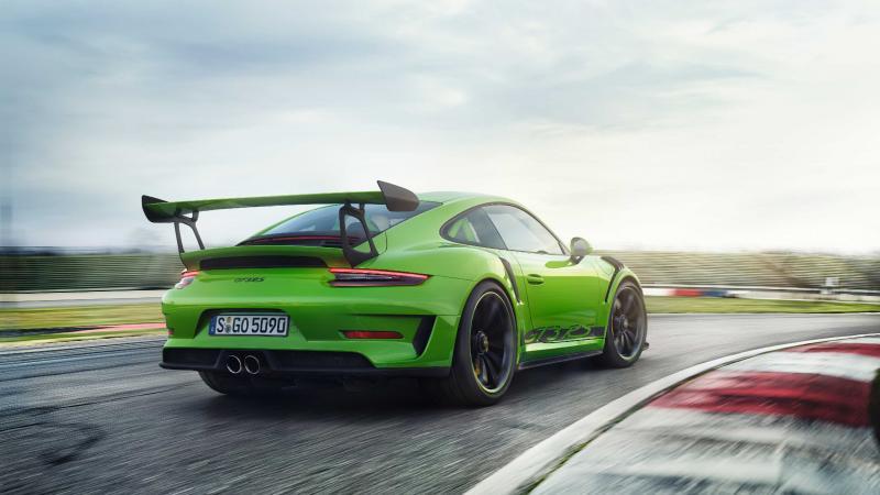 Porsche 911 GT3 RS (2018 - officiel)