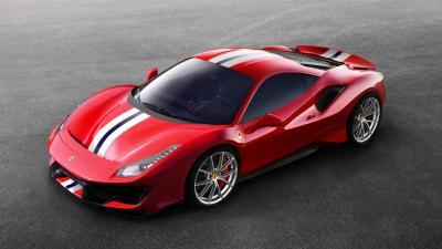 Ferrari 488 Pista (officiel)