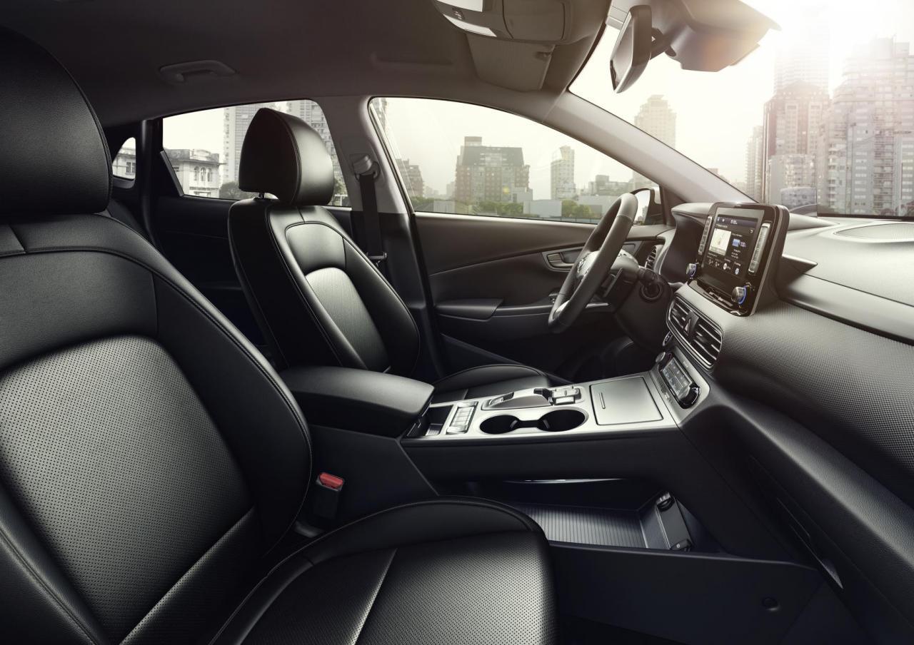 Hyundai Kona Fiche Technique >> Geneve 2018 Hyundai Kona Electric Autonomie Fiche