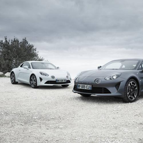 Alpine A110 Pure & Légende (officiel - 2018)
