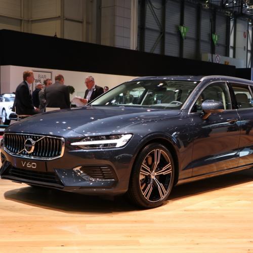 Volvo V60 | nos photos depuis le salon de Genève
