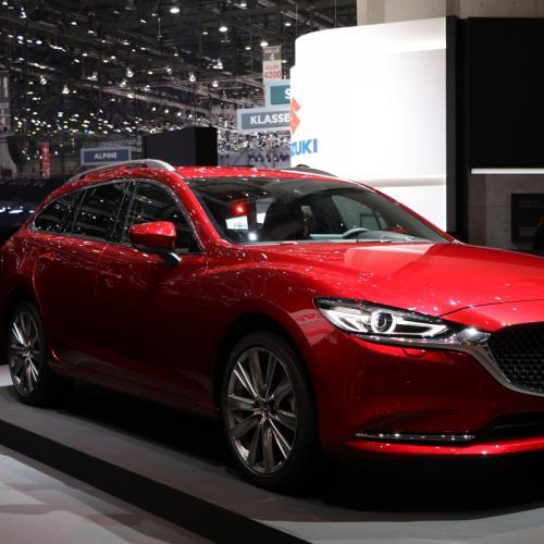 Mazda6 SW restylée | nos photos depuis le salon