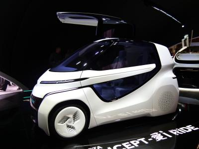 Toyota Concept i-Ride | nos photos depuis le salon