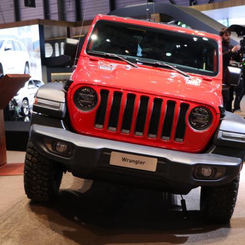 Jeep Wrangler | nos photos depuis le salon de Genève 2018