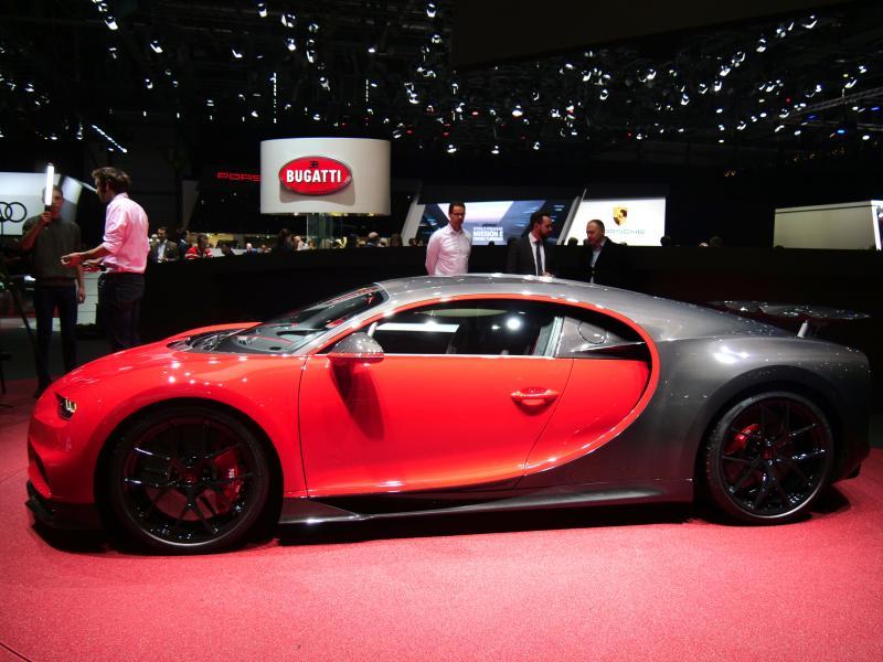 Bugatti Chiron Sport | nos photos depuis le salon de Genève 2018