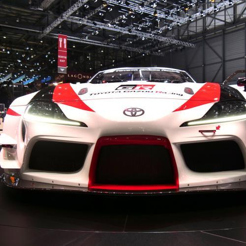 Toyota GR Supra Racing Concept | nos photos depuis le salon de Genève 2018