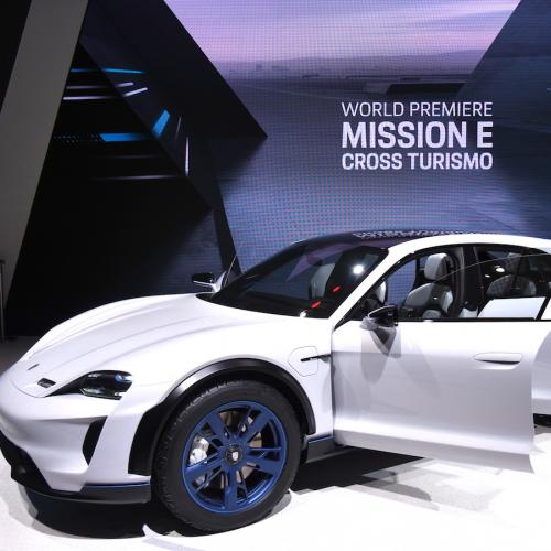 Porsche Mission E Cross Turismo | nos photos depuis le salon de Genève 2018