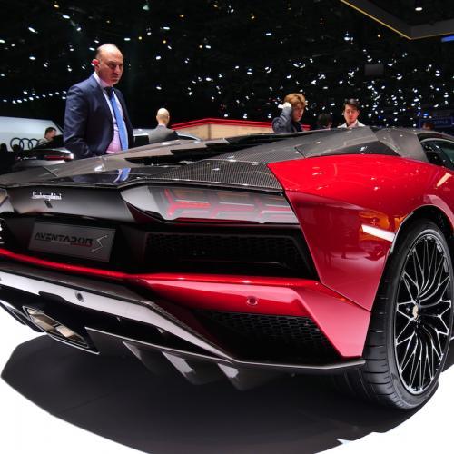 Lamborghini Aventador S | nos photos depuis le salon de Genève 2018