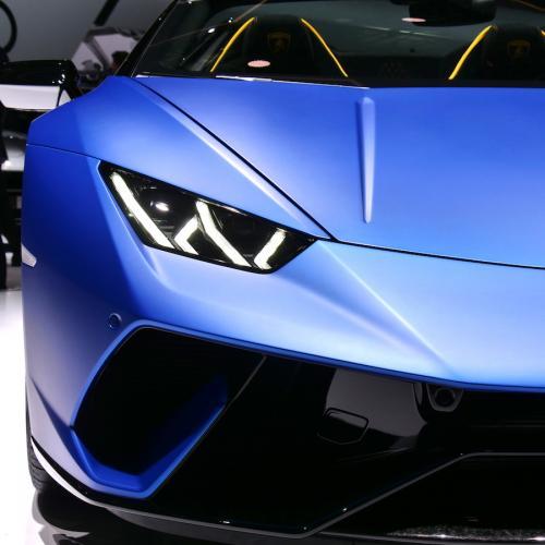 Lamborghini Huracan Performante Spyder | nos photos depuis le salon de Genève 2018