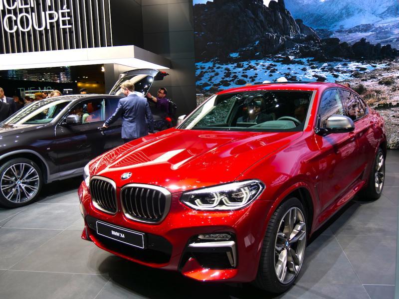 BMW X4 | nos photos depuis le salon de Genève 2018