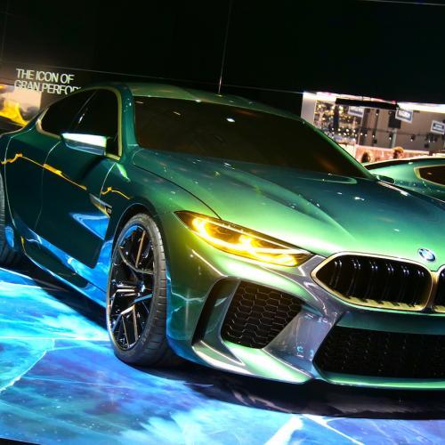 BMW M8 Gran Coupé | nos photos depuis le salon de Genève 2018