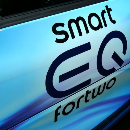 Smart EQ | nos photos depuis le salon de Genève 2018
