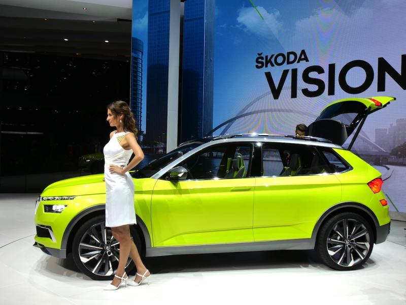 Albums photos skoda vision x concept nos photos depuis for Skoda salon de geneve