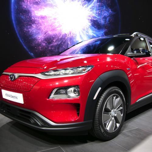 Hyundai Kona EV | nos photos depuis le salon de Genève 2018