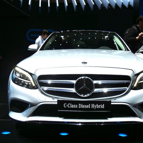 Mercedes Classe C restylée | nos photos depuis le salon de Genève 2018