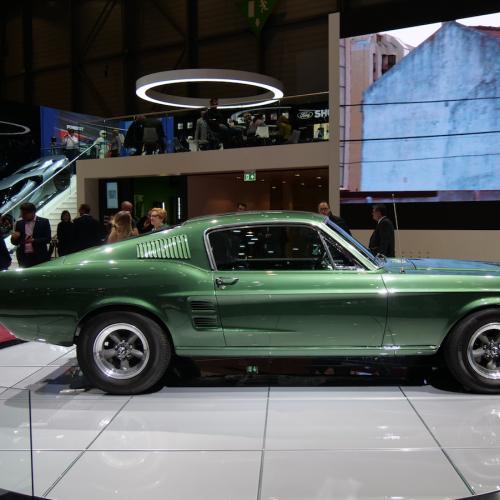 Ford Mustang Bullitt | nos photos depuis le salon de Genève 2018