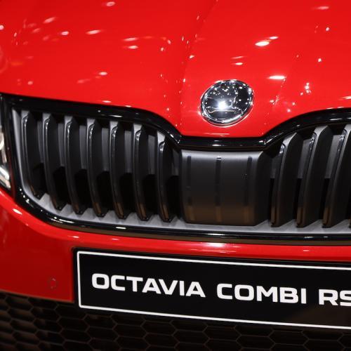 Skoda Octavia Combi RS | nos photos depuis le salon de Genève 2018